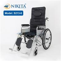 Xe lăn ngả giường Nikita S213-6