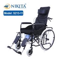 Xe lăn ngả giường có bô Nikita S213-11