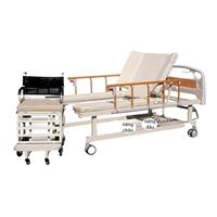 Giường y tế tách xe lăn NKT-DCN09 mẫu mới 2021