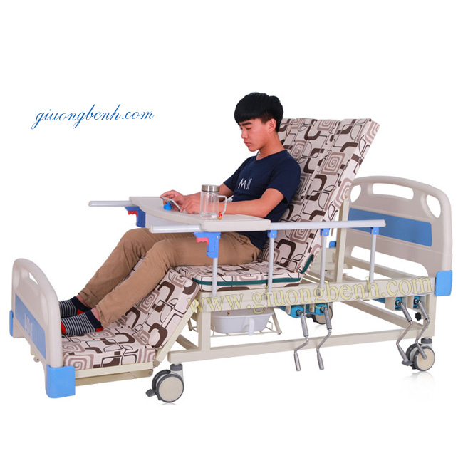 Giường bệnh 4 tay quay NKT-E04-III